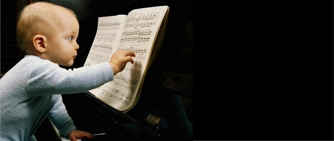 niño músico