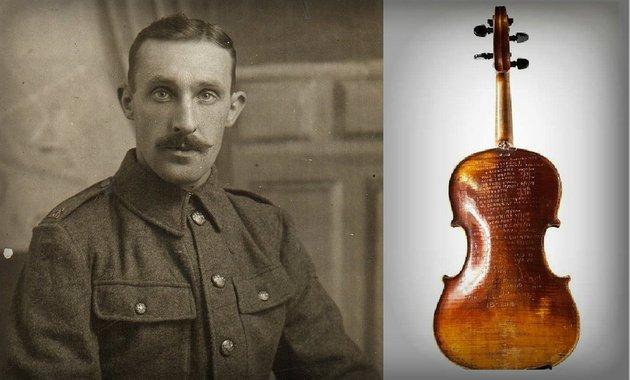 soldado violín