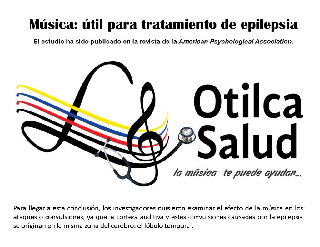 Música: útil para tratamiento de epilepsia
