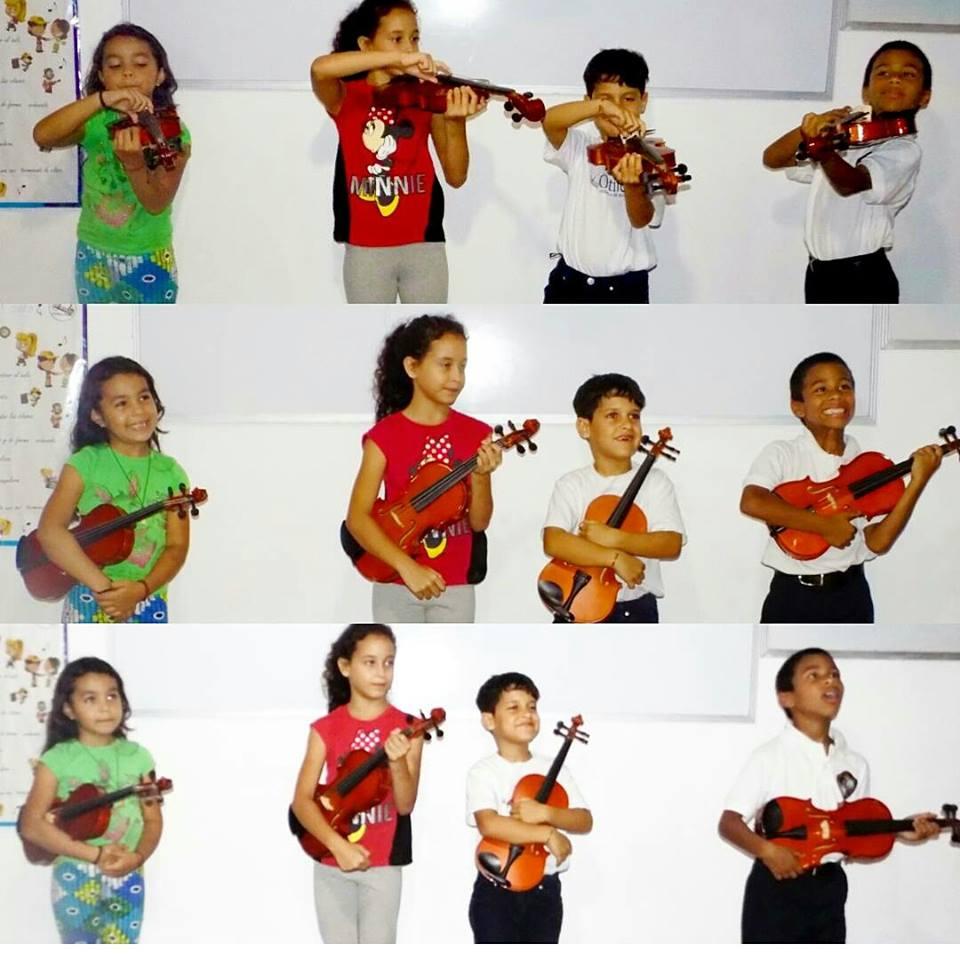 Tomar clases musicales aumenta las conexiones neurológicas en el cerebro de los niños, según el estudio - Foto Elvianys Navas, Edición Faviola Galarraga