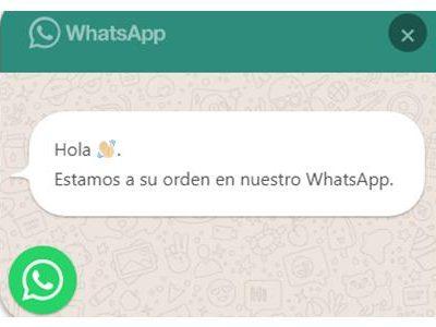 Escríbenos en WhatsApp
